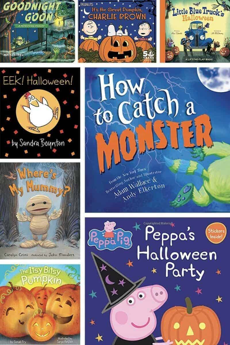 halloween books to read with kids a collage of books