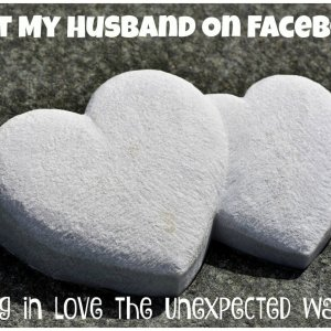 met husband on facebook