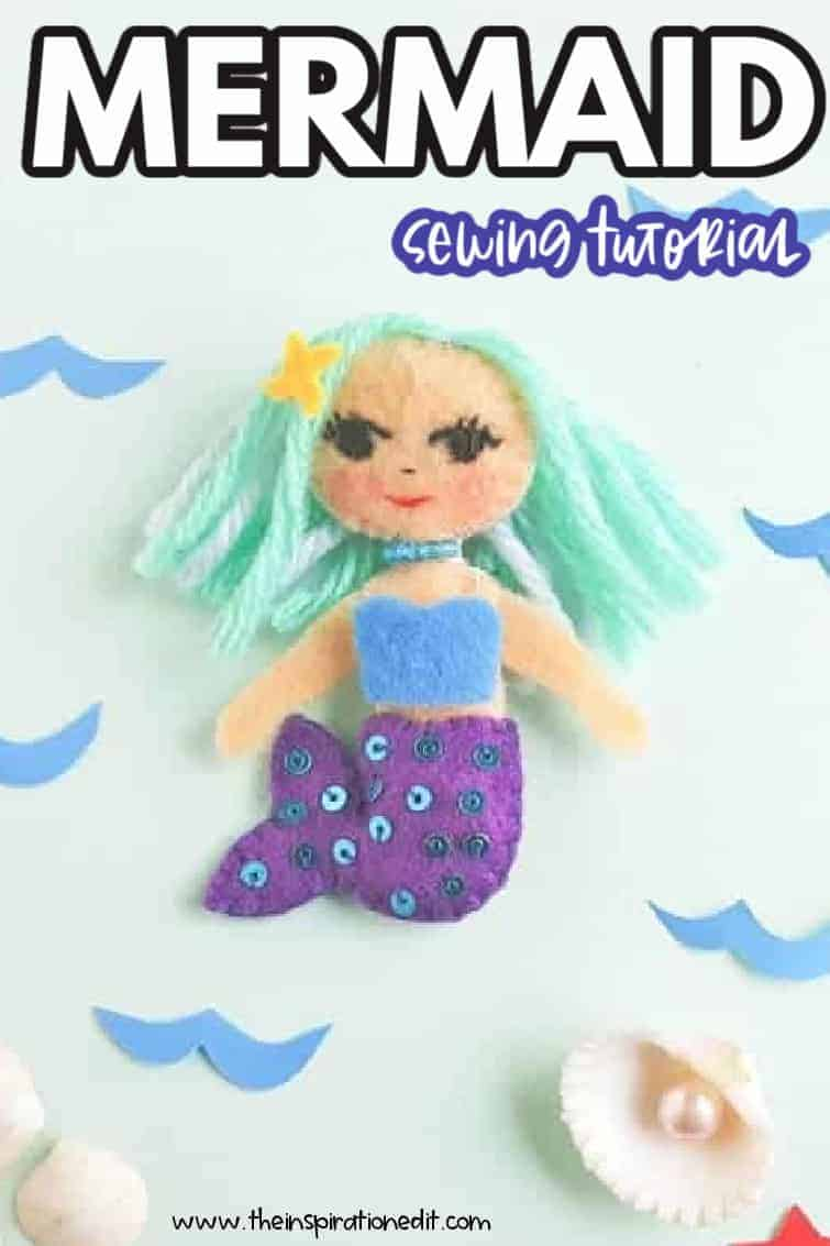 mermaid sEWING TUTORIAL