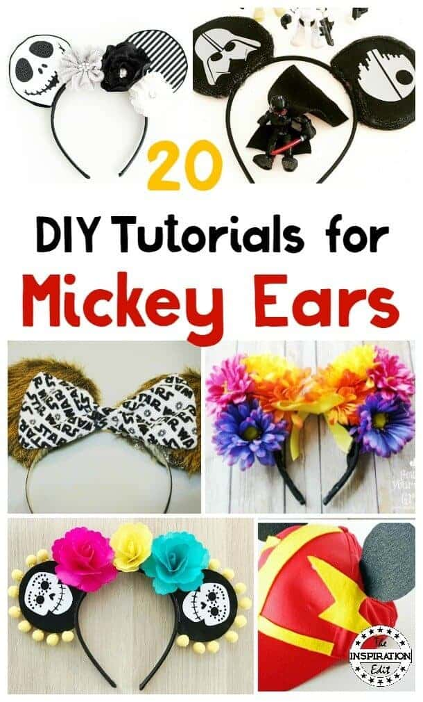 Diy Mickey Ears For Your Next Disneyland Trip The