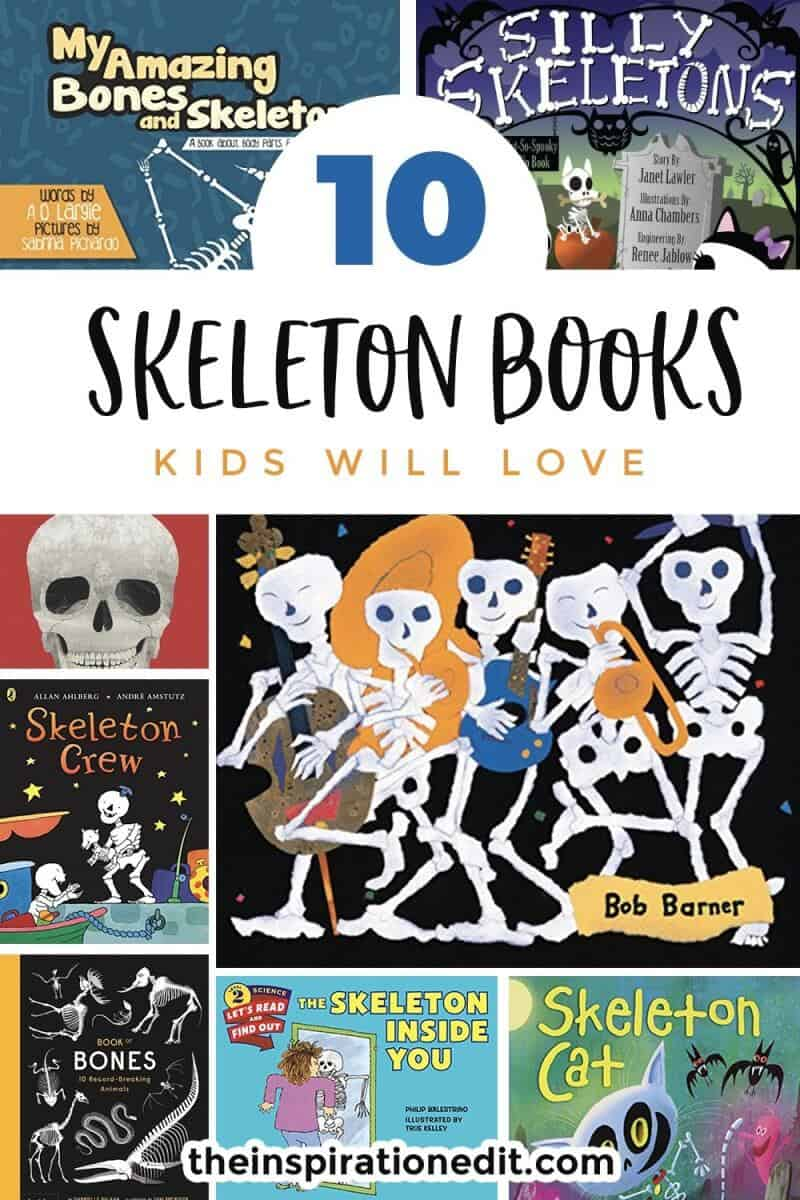 kids skeleton books