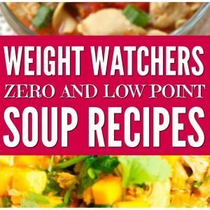 weight watchers soup recipes