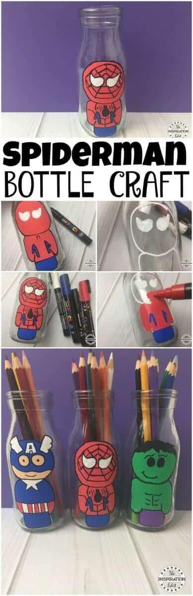 super hero crafts