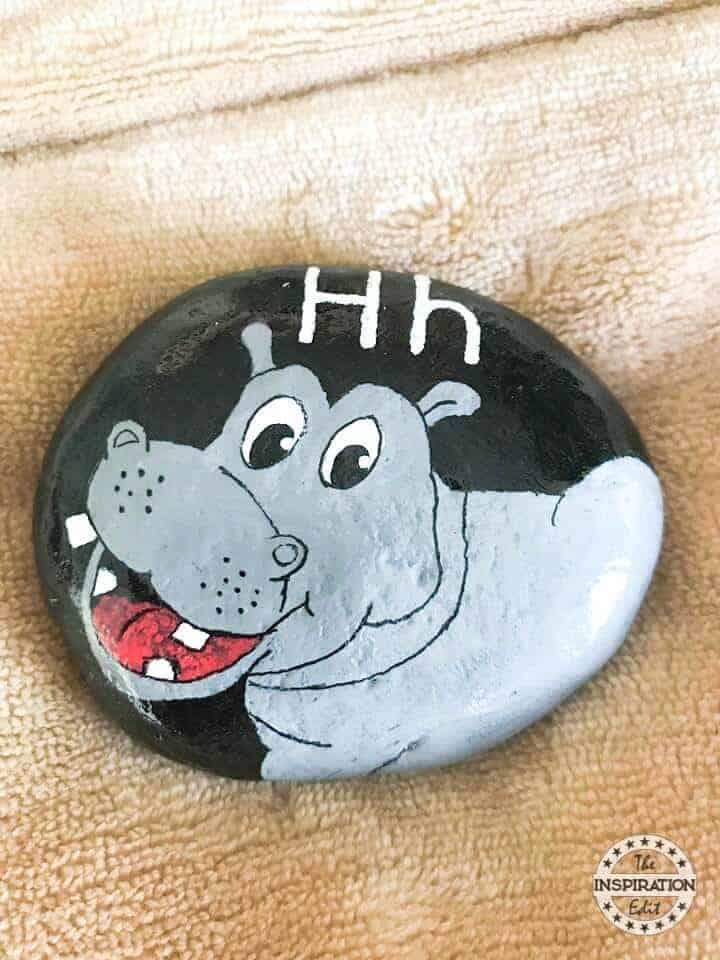 hippo rock stone