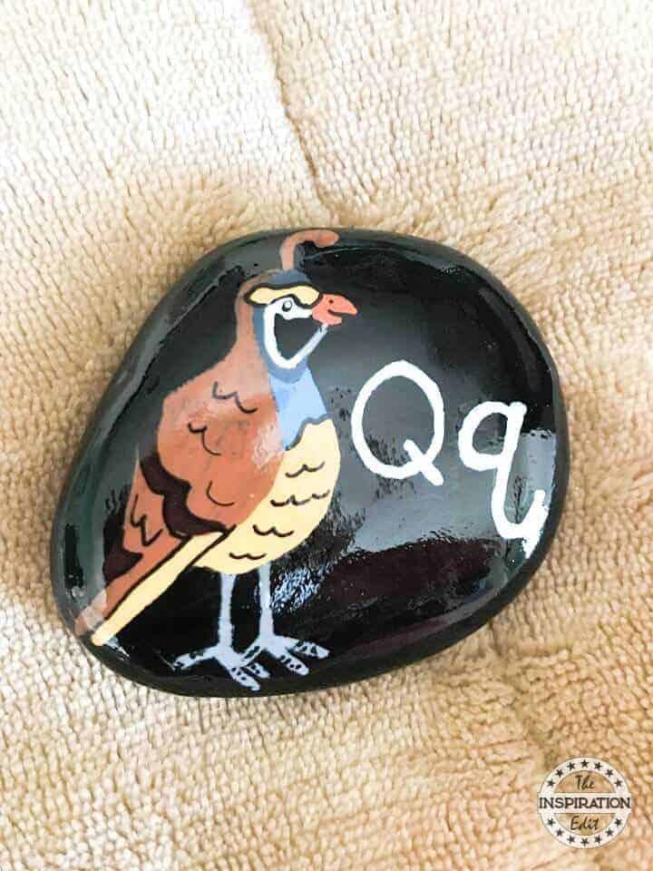 quail rock stone