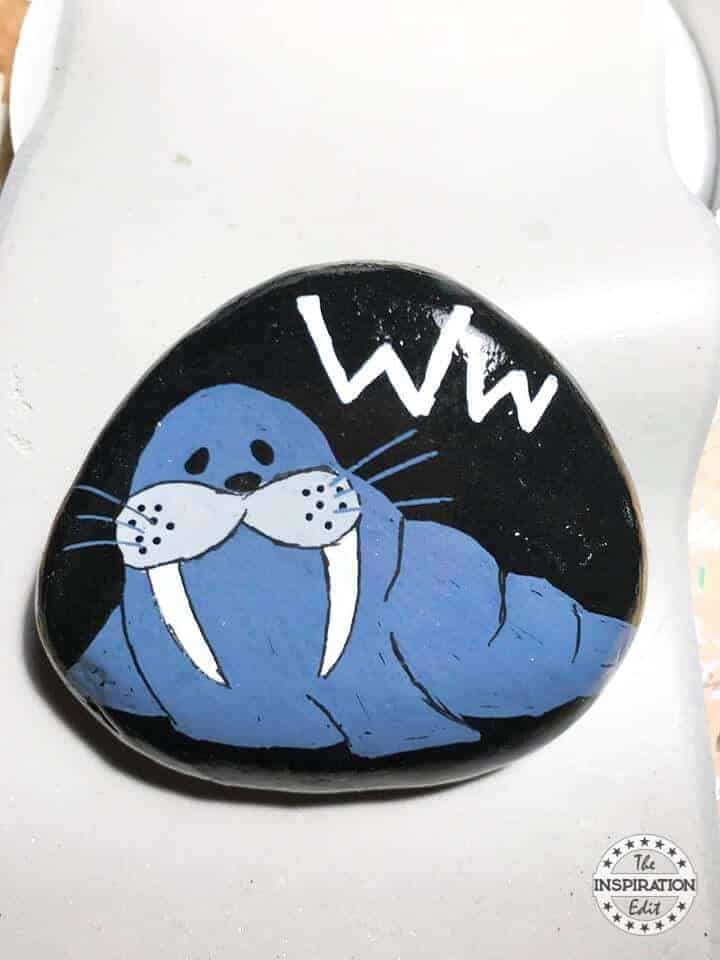 walrus rock stone