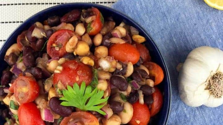 four bean salad with weight watchers points
