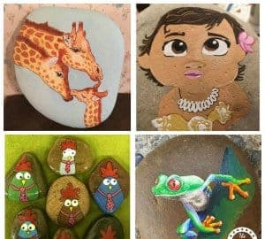 50 rock painting ideas