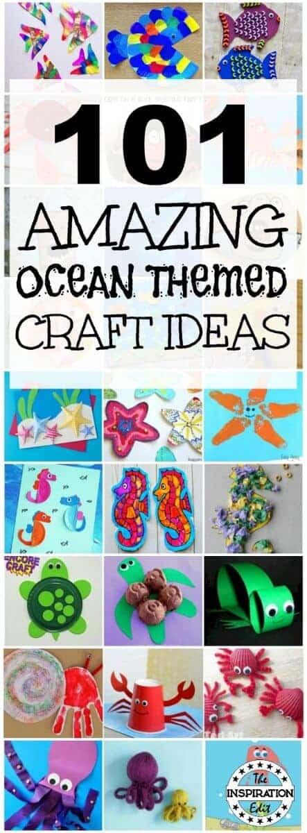 ocean crafts for preschool kids