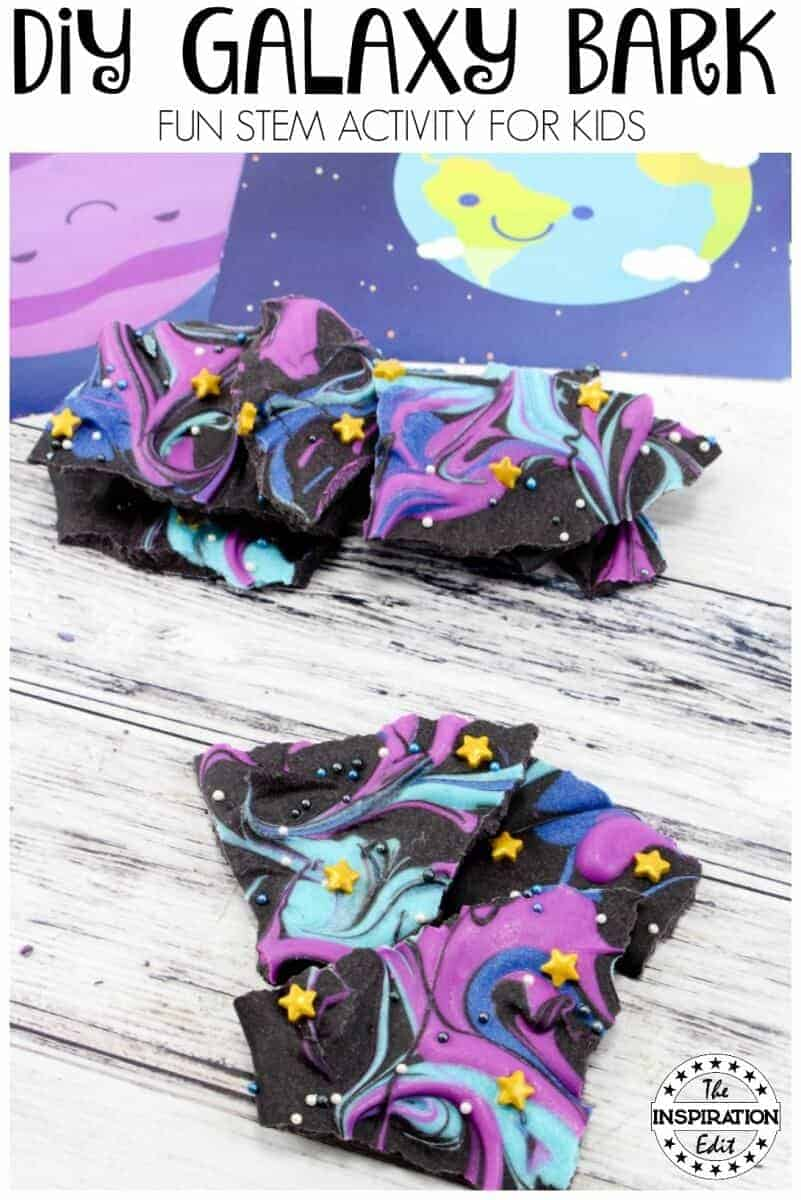 DIY GALAXY bark