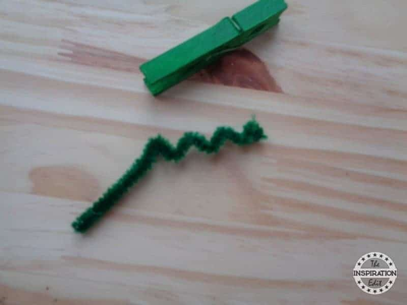 Clothes Peg Crocodile