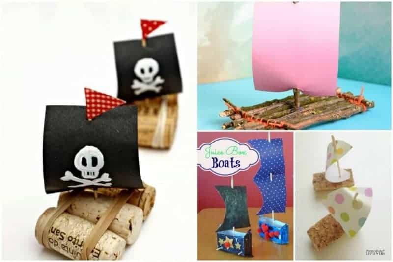 sail boat crafts