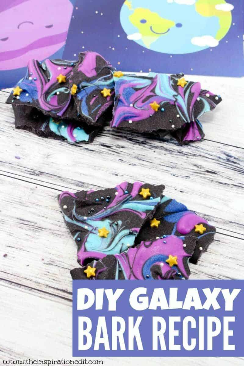 diy galaxy bark recipe
