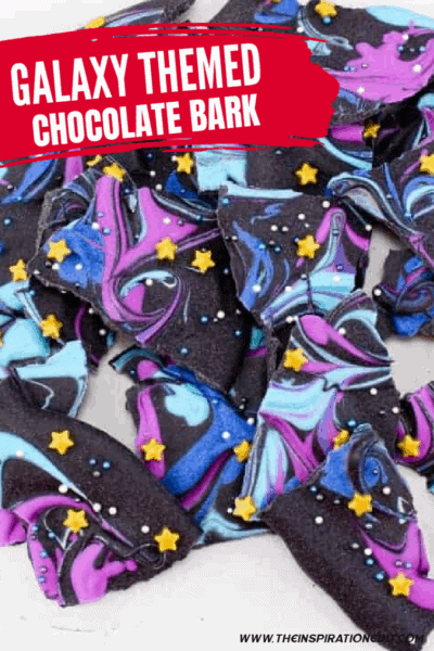 Fun Chocolate Galaxy Bark For Kids