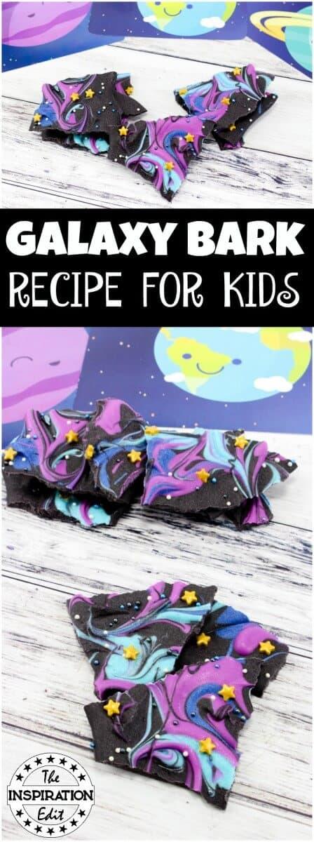 GALAXY BARK RECIPE FOR KIDS