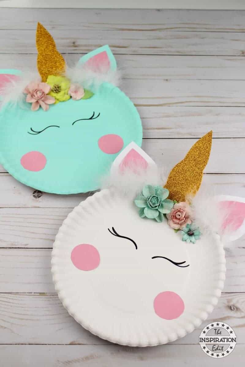 Paper Plate Crafts An Easy Unicorn Project 183 The