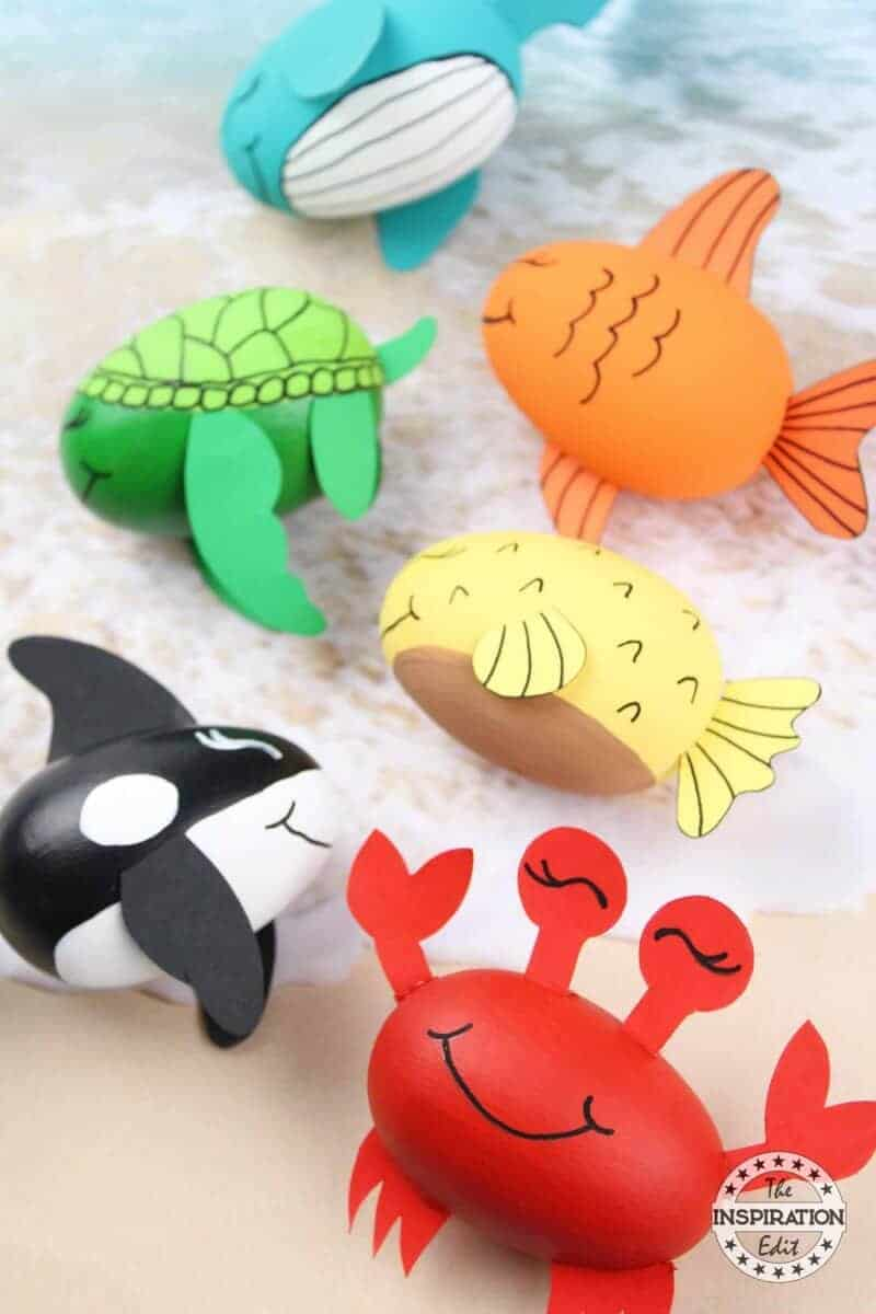 ocean creatures preschool craft idea