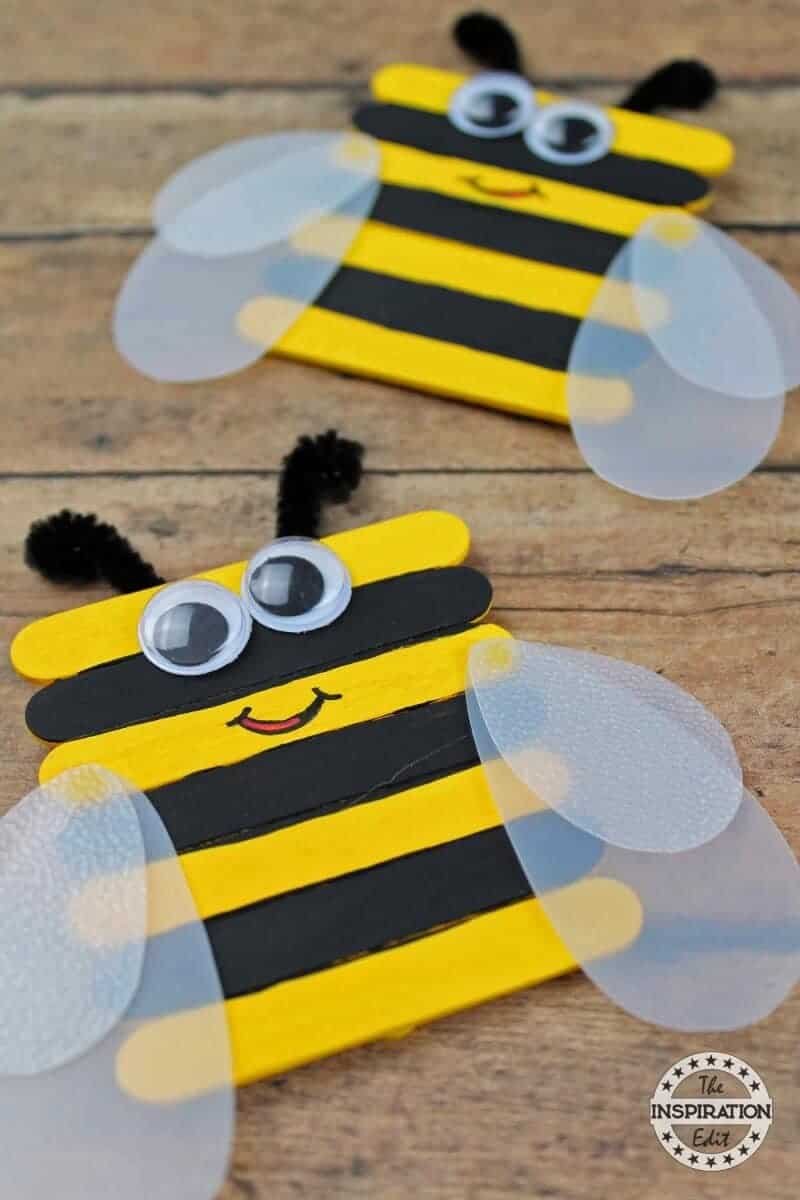 51 Amazing Preschool Bug Crafts · The Inspiration Edit
