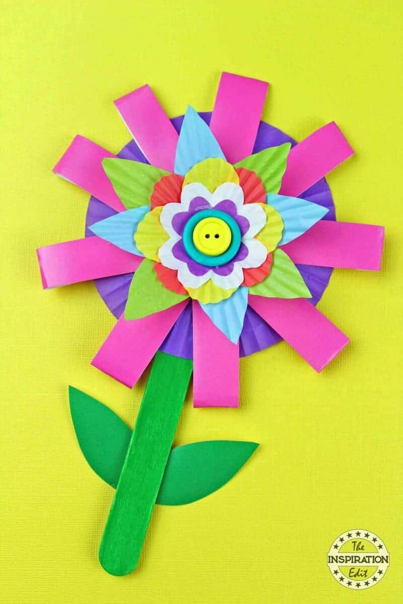 kids flower activity
