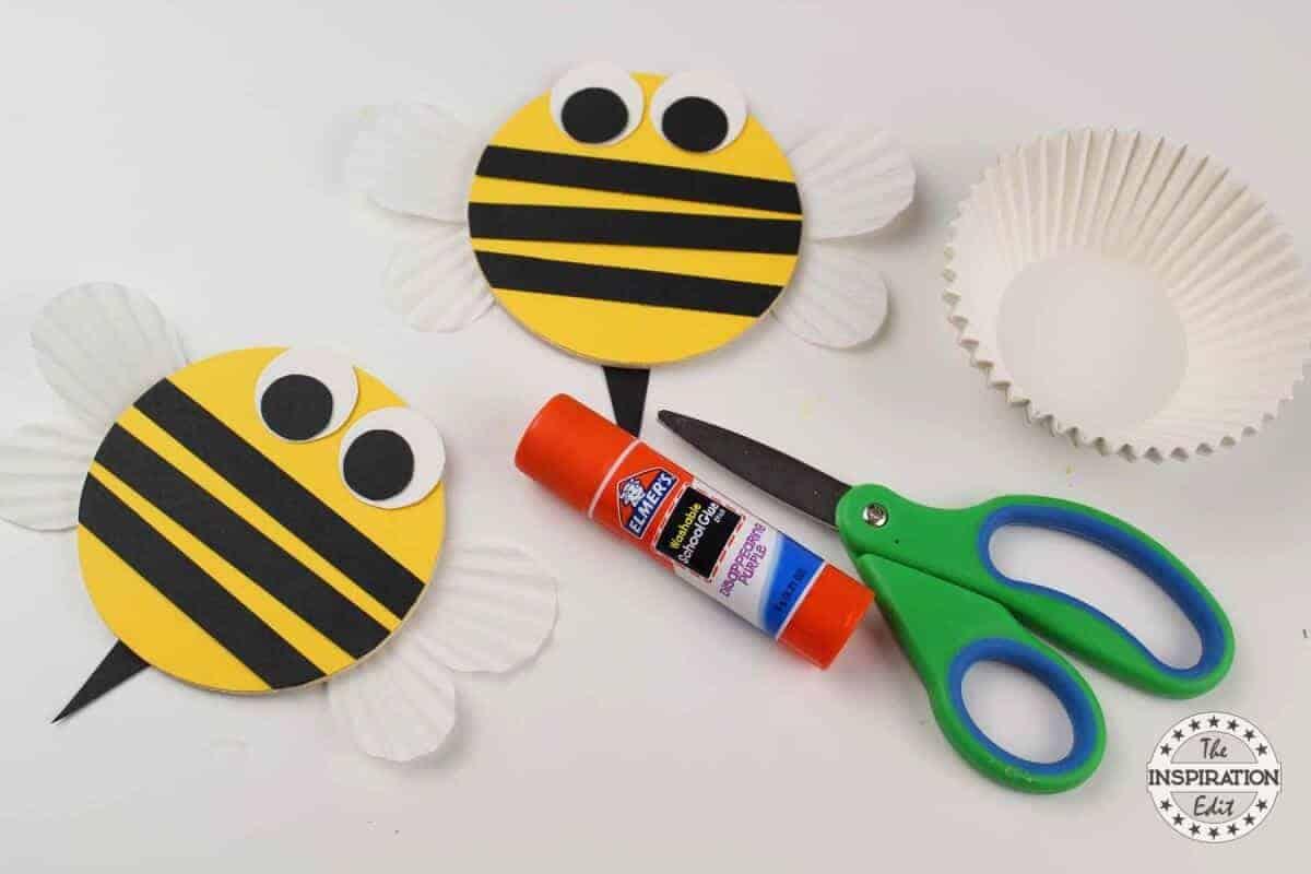 chunky BUMBLE BEE CRAFT