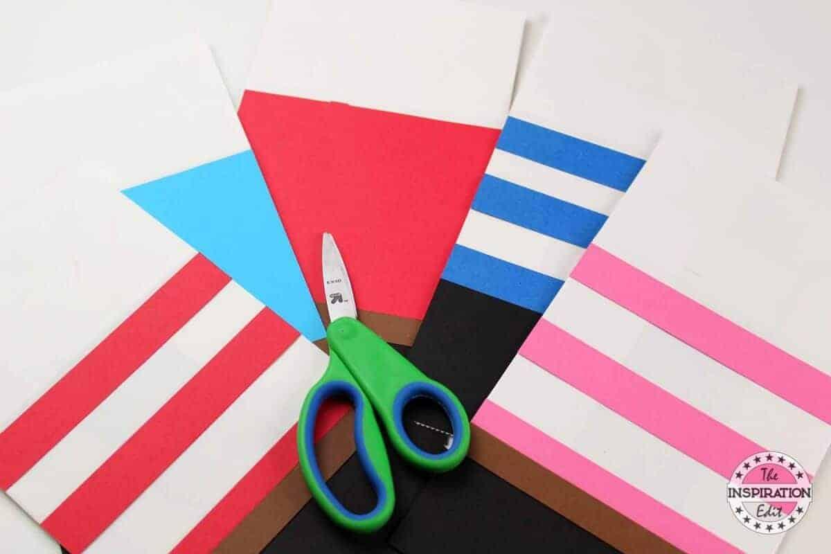 Pink Pirate Paper Bag Craft