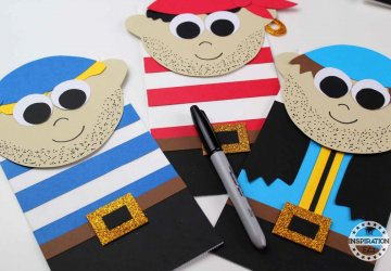 pirate craft for preschool kids