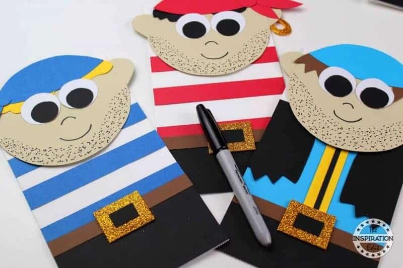 Pirates Paper Bag Craft