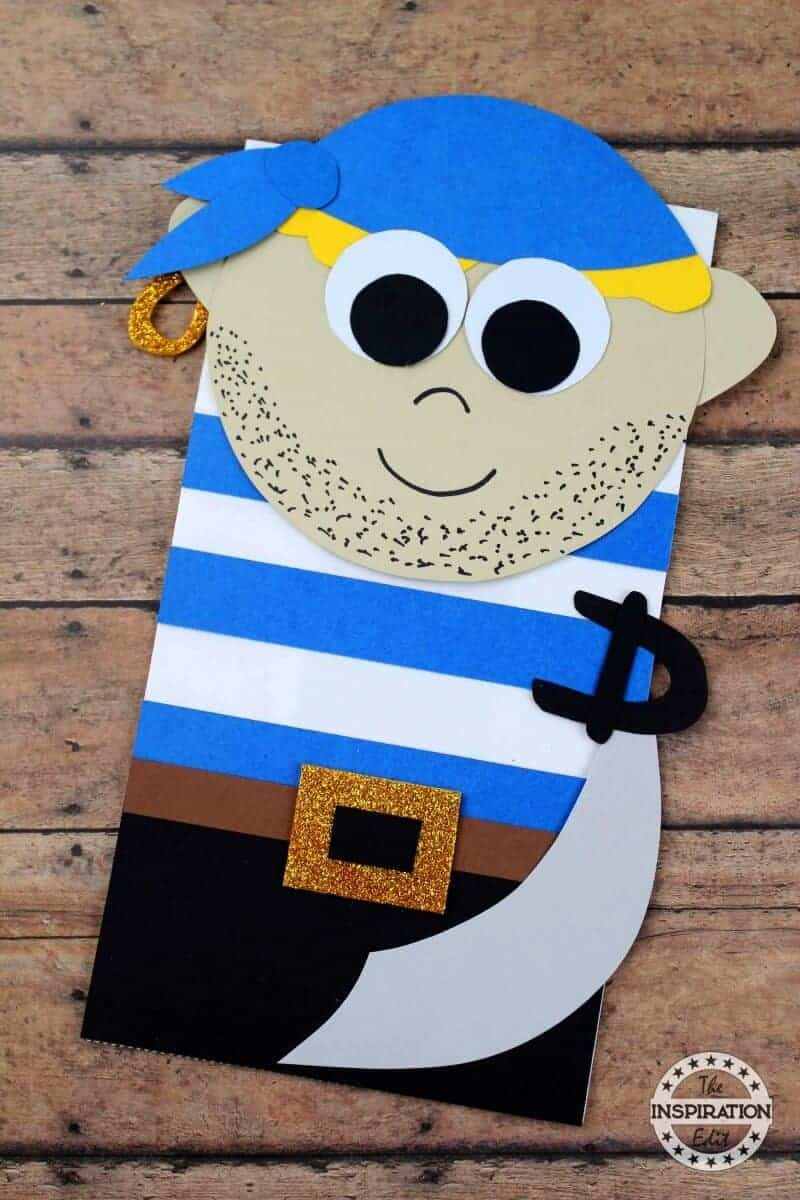 pirate paper bag