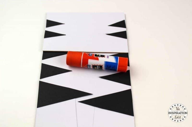 preschool zebra craft
