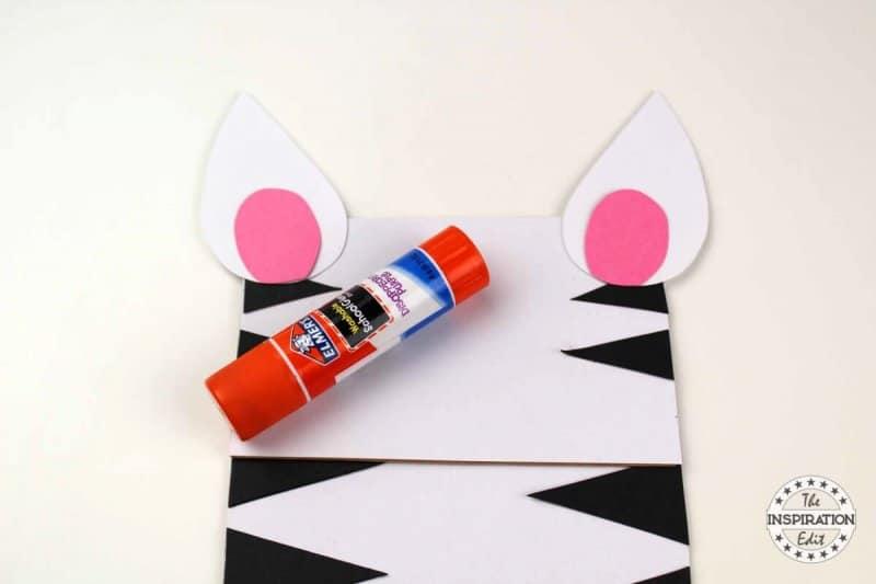 letter Z zebra craft for kids