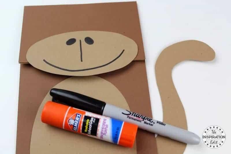 Monkey Puppet Craft