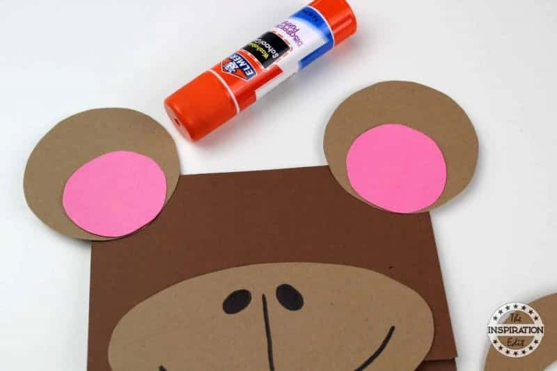 Monkey Puppet Craft