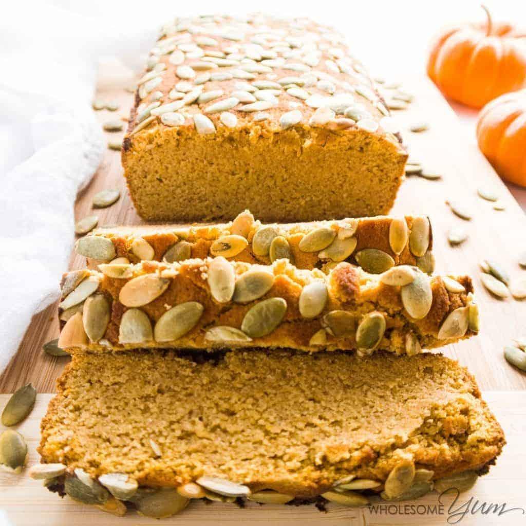 Instant-Pot-sugar-free-pumpkin-bread-low-carb-paleo