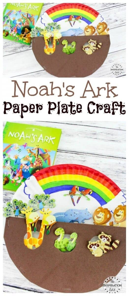Noah's Ark Paper Plate Craft