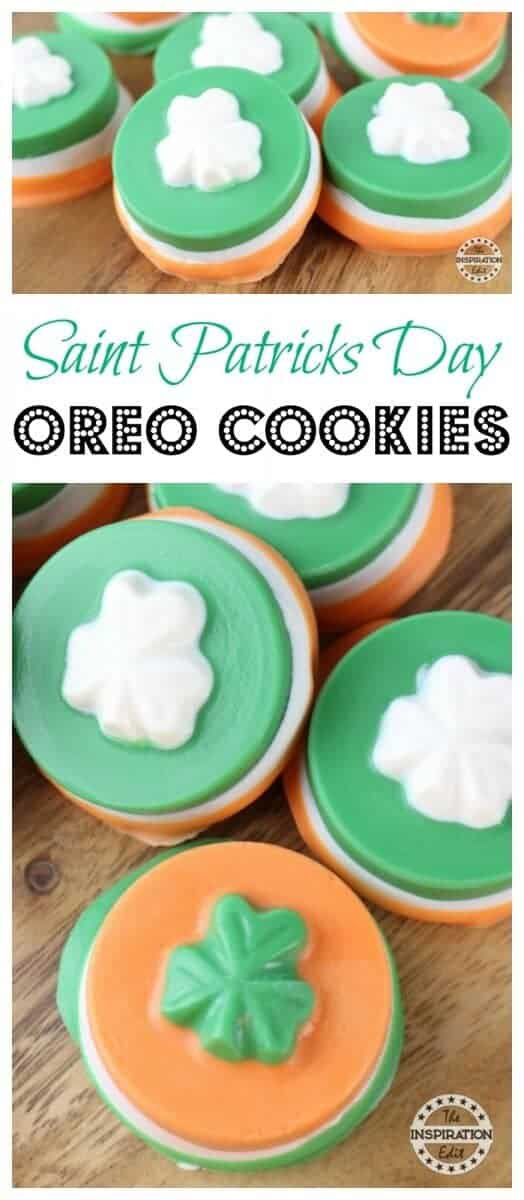 Saint Patricks Day Oreo Cookies