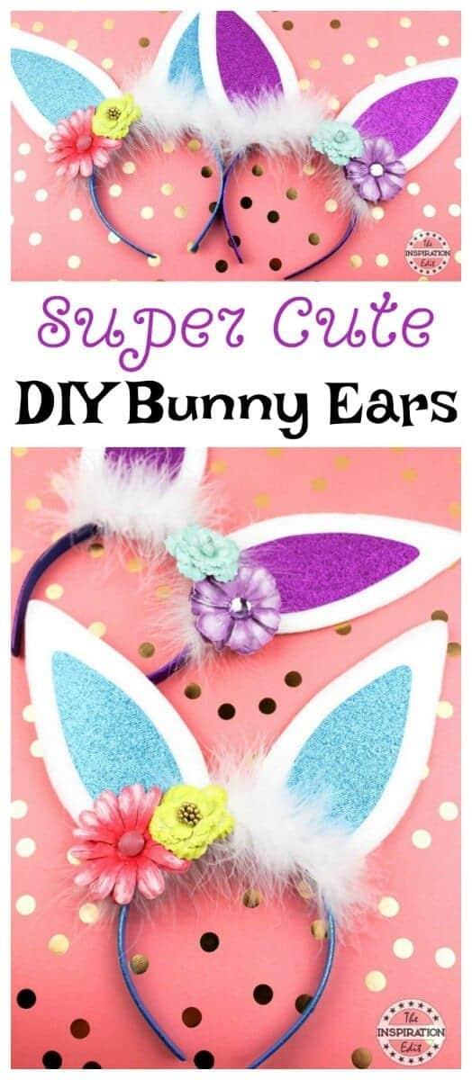 Super Cute DIY Bunny Ears