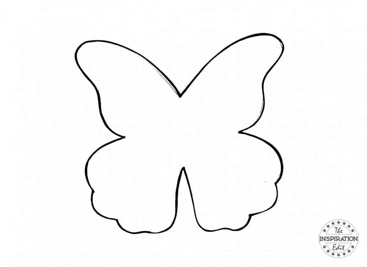 galaxy blot butterfly craft
