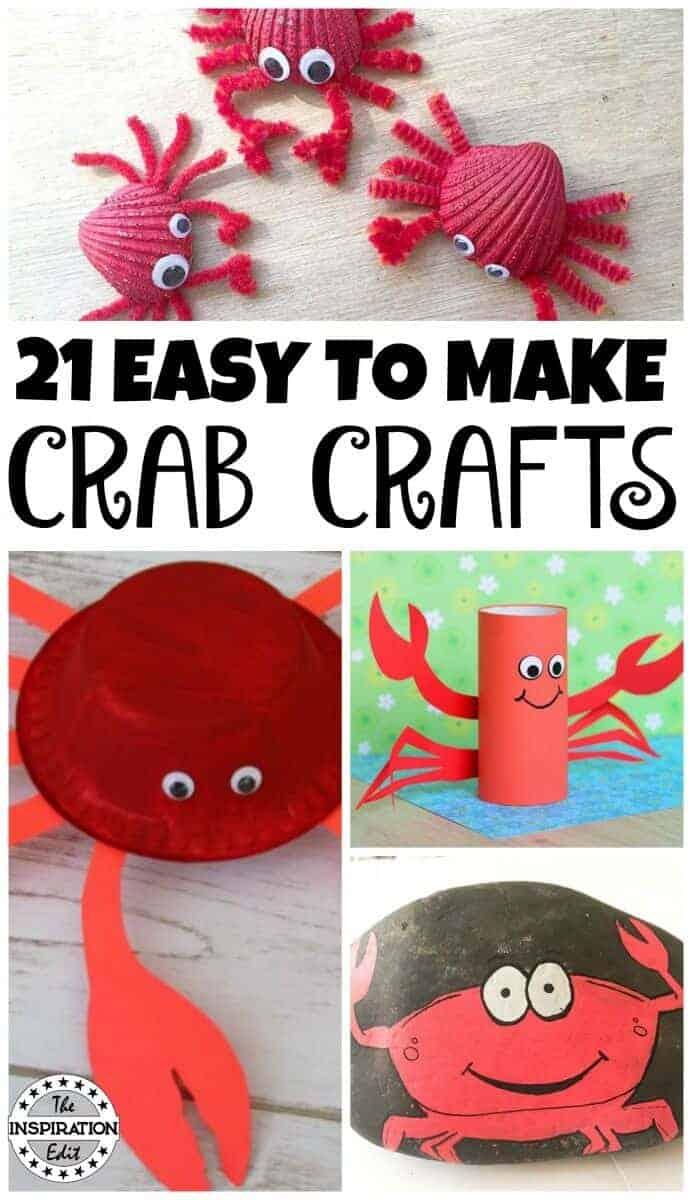 crab crafts for kids