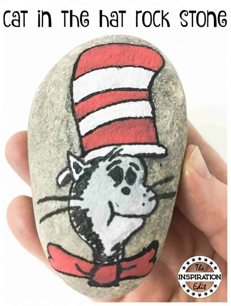 cat in the hat rock stone
