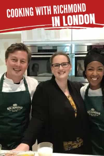 cooking in london with richmond