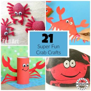 crab crafts for kids