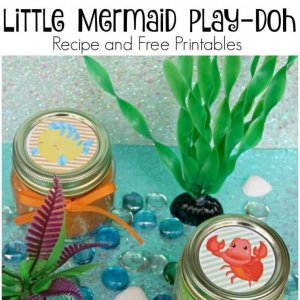 Glitter Play Doh Recipe