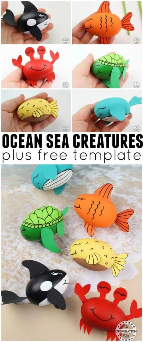 ocean crafts for preschool kids