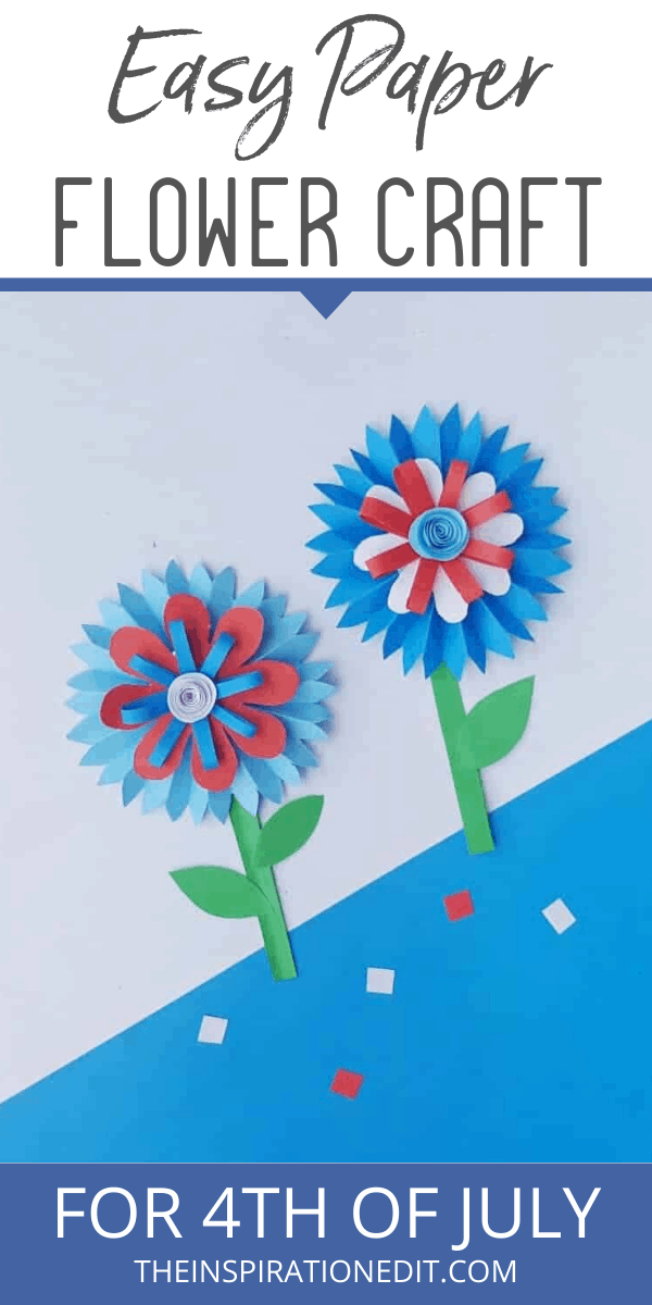 4th July flower craft