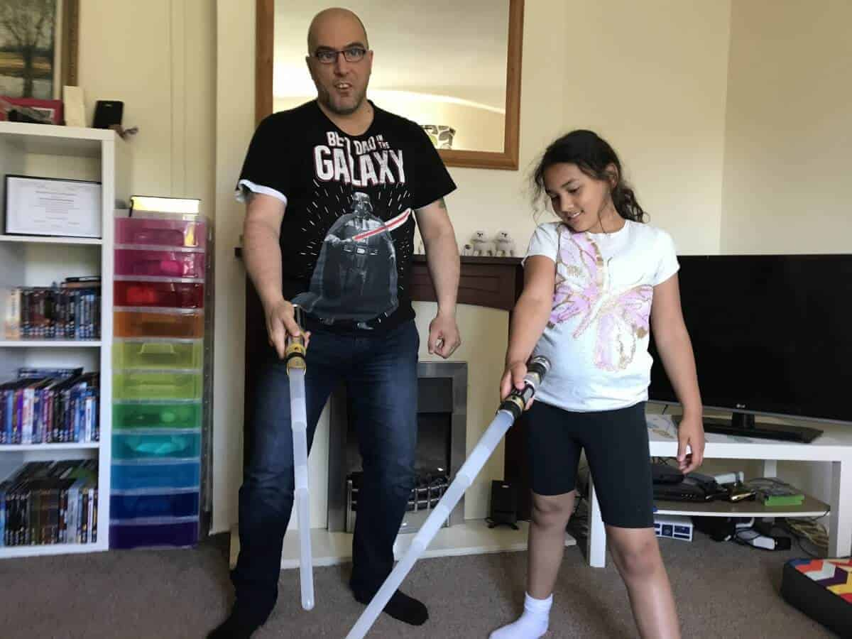 star wars blade builders force master lightsaber review