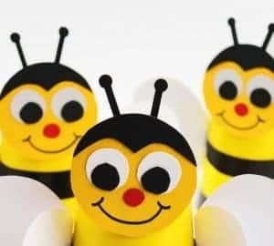 bumble bee kids craft idea