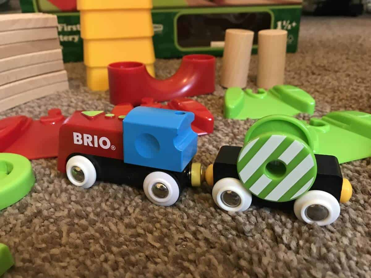 Brio Train Accessories My First Railway Battery Train Set The