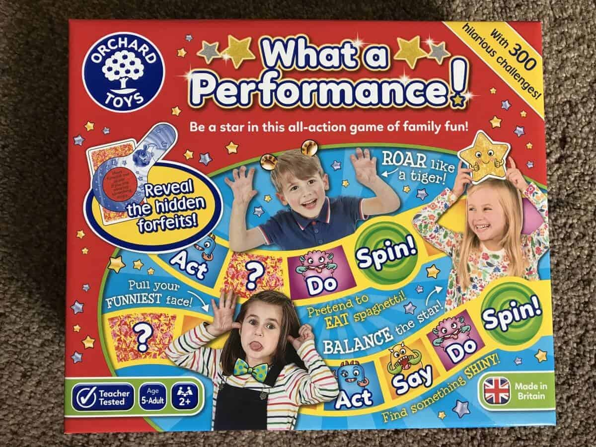 orchard toys what a performace game