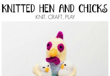 Hen KNITTING BY ALAN DART