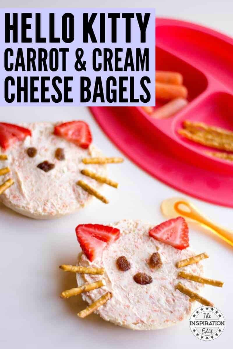 healthy snack idea for kids. Bagels For Kids